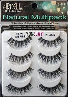 THE Best 4 Pairs Ardell Demi Wispies Natural Multipack False Eyelashes Fake Eye Lashes - Amazing Makeup Makeup Blog, Makeup Dupes, Makeup Case, Skin Makeup, Makeup Tools, Beauty Makeup, Makeup Ideas, Prom Makeup, Makeup Kit