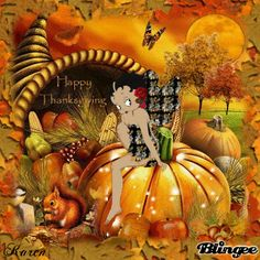 Happy Thanksgiving ~ Betty Boop
