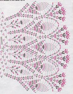 ...**♥ Charme.arte ♥**...: Vestidos de crochê