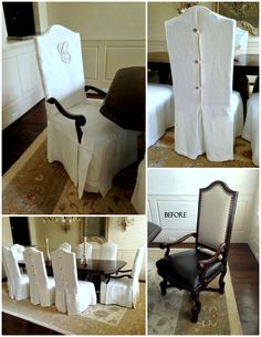 Dining chair slipcov