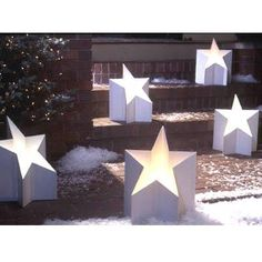 All-Star Luminaria Woodworking Plan