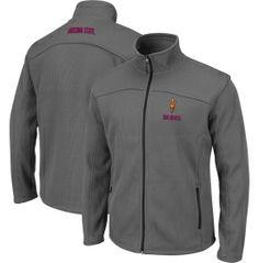 Colosseum Athletics Men's Arizona State Sun Devils Charcoal Plow Jacket - Dick's Sporting Goods xxl