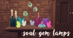 Hamburgercakes: Soul Gem Lamps • Sims 4 Downloads