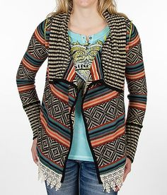 Love this BKE Flyaway Cardigan Sweater.