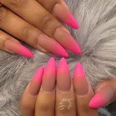 I don't like the pointed nails but do like the colors Super Cute Nails, Great Nails, Fabulous Nails, Love Nails, How To Do Nails, Tribal Nails, Funky Nails, Toe Nail Designs, Nail Shop