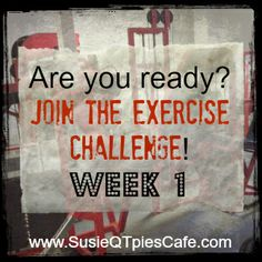JOIN in the FUN! Healthier Lifestyle Weekly Exercise Challenge