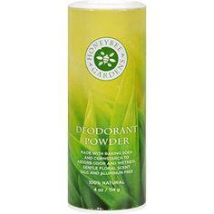 New  Honeybee Gardens Deodorant Powder  4 oz * For more information, visit image link.