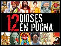 """Fernando Rivera Calderón y Las Reinas Chulas presentan: """"12 dioses en pugna""""  ÚLTIMAS FUNCIONES: Viernes 5 y 12, sábados 6 y 13 de diciembre   22:30hrs   $400"""