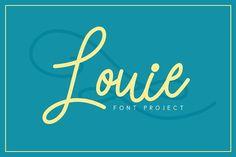 Louie Font - Script