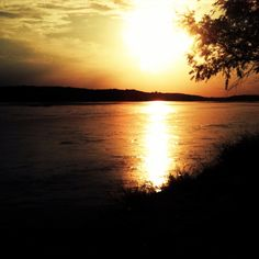 Platte River-Louisville, Nebraska. Dont know how many times I have swam here.