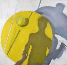 'Tables IV', 1985 by Panayiotis Tetsis Wallpaper S, Pattern Wallpaper, Post Impressionism, Greek Art, Art Database, Art Clipart, Paint Shop, Drawing S, Great Artists