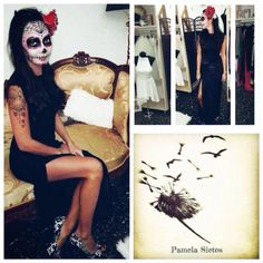 Halloween Face Makeup, Instagram, Dresses, Fashion, Moda, Vestidos, Fashion Styles, Dress, Dressers