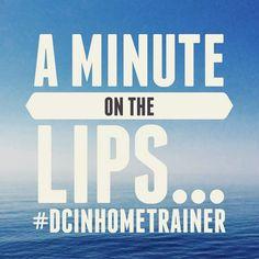 A minute on the lips... #DCInHomeTrainer #fitnessmotivation #vegan #washingtondc #personaltrainer
