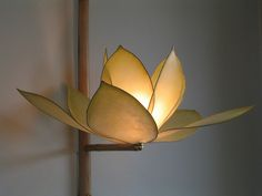 handmade-paper-light from HiiH in Portland