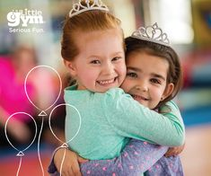 Celebrate your child's next birthday with an Awesome Birthday Bash Party at The Little Gym! To learn more visit www.thelittlegym.com