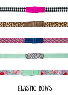 Headbands of Hope — Elastic Bows.  For every headband purchased, one is given to a girl with cancer and $1 is donated to fund childhood cancer research.