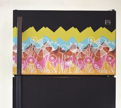 Individual designers and crafters use Spoonflower to print custom wall decals from their own designs.