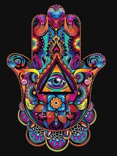 New hamsa iphone wallpaper. Psychedelic Art, Mandala Art, Mandala Tapestry, Hamsa Art, Hamsa Tattoo, Eye Painting, Hand Of Fatima, Hippie Art, Visionary Art