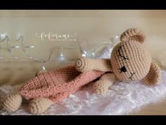 Crochet Lovey, Crochet Toys, Knit Crochet, Baby Knitting Patterns, Crochet Patterns, Spool Knitting, Baby Toys, Fun Crafts, Crafty