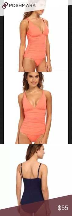 Tommy Bahama Pearl One-Piece Swimsuit Size 8 Tommy Bahama Pearl Over-the-Shoulder V-Neck One-Piece Swimsuit Size 8. Supremely sophisticated swimwear. Solid one-piece swimsuit features Xtra Life™ Lycra® fibers which retain their shape, dry quickly, and resist fading. UPF 50+ fabrication protects skin during outdoor activity by blocking harmful Ultraviolet A & B rays (UVA/UVB). Tommy Bahama Swim One Pieces