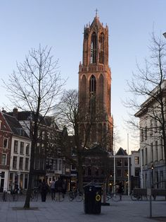 Evening sun on our Dom tower # Utrecht #dom# tower