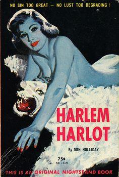 Nightstand Books NB1619 - Don Holliday - Harlem Harlot