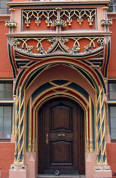 Beautiful portal and door. Cool Doors, Unique Doors, Gothic Architecture, Architecture Details, Installation Architecture, Ancient Architecture, Entrance Doors, Doorway, Door Knockers