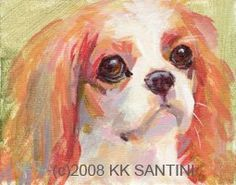 Painting a Dog a Day Kimberly Kelly Satini