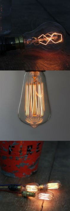 8-Point Filament / Small 19 Anchor Squirrel Cage Filament Bulb  By Hattie Hollins