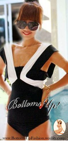 Country Club one piece – Black/White Order Code: BU5008BLW Fully lined Sizes: S / M / L  Price: R350/piece Stock Status: Temporarily on order basis only: Allow 2-6weeks for delivery in SA Email: bottoms-up-@hotmail.com for orders/enquiries