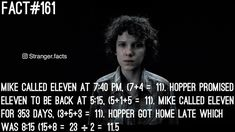 "268 Likes, 9 Comments - Stranger Things (@stranger.facts) on Instagram: ""Sorry if this fact is boring but I tried to be creative. #eleven #mikewheeler #dustin #lucas…"""