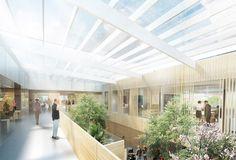 aarhus arkitekterne Designs Revolutionary Proton Therapy Center for Denmark,Courtesy of aarhus arkitekterne