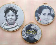 Print photos on @jacquardproduct inkjet fabric sheets (from @michaelsstores . Great diy gift for mom on mother's day!