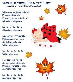 Doamna Fagilor: Cantecel de toamnă (cu variantă audio) Paper Frames, Autumn Activities, Kindergarten Worksheets, Autumn Theme, Raising Kids, Kids Education, Nursery Rhymes, Holidays And Events, Kids And Parenting