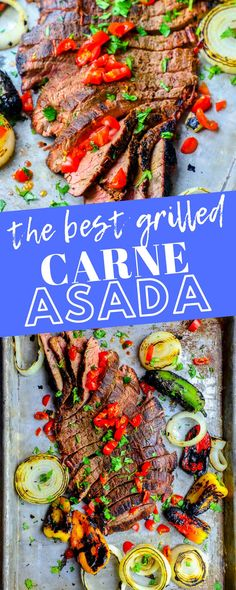 4 Points About Vintage And Standard Elizabethan Cooking Recipes! The Best Grilled Carne Asada Recipe Ever - Sweet Cs Designs Entree Recipes, Grilling Recipes, Meat Recipes, Mexican Food Recipes, Cooking Recipes, Recipies, Carne Asada, My Favorite Food, Favorite Recipes
