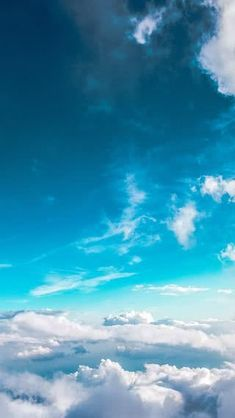 One of many great free stock photos from Pexels. This photo is about over the clouds, sky, skyscape Clouds Wallpaper Iphone, Blue Wallpaper Iphone, Cloud Wallpaper, Summer Wallpaper, Blue Wallpapers, Trendy Wallpaper, Wallpaper Earth, Iphone Backgrounds, Iphone Bleu