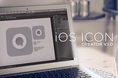 Check out iOS Icon Creator by ozonostudio on Creative Market