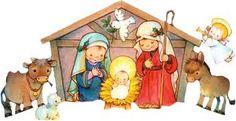 Les invitamos a compartir en familia el 24 de diciembre a las 7:00 pm en nuestra casa. Christmas Cover, Christmas Nativity Scene, Christmas Scenes, Christmas Tag, Little Christmas, Vintage Christmas, Christmas Crafts, Christmas Graphics, Christmas Clipart