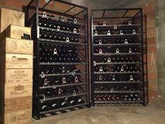 cuisine cave rangement vin