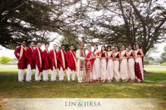 Indian bridal party| Image courtesy by Lin and Jirsa Photography | Discover more images at www.shaadibelles.com #wedding #southasian #indian Indian Bridal Party, More Images, Photography, Wedding, Valentines Day Weddings, Photograph, Fotografie, Photoshoot, Weddings