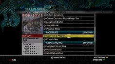 Game Art Ui Guitar Hero Rock Band