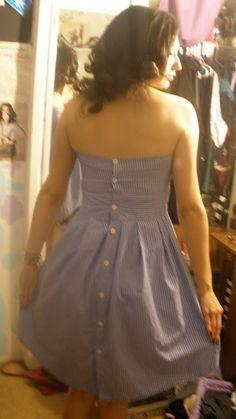 De camisa a vestido