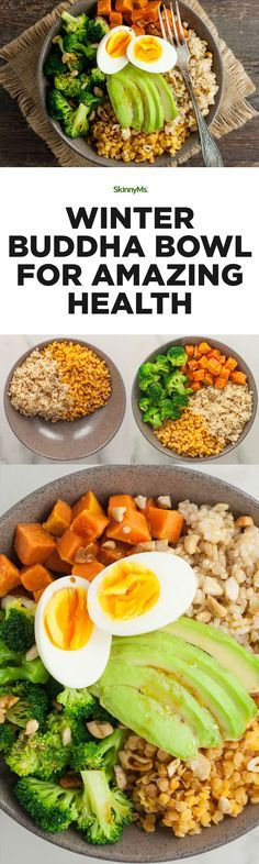 Packed with flavor and vitamins, this winter Buddha bowl for amazing health is filling and perfect for a well-rounded meal.