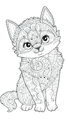Cute Anime Animals Coloring Pages Fresh Page Coloring Animal Coloring Pages to Color Tremendous Pokemon Coloring Pages, Free Adult Coloring Pages, Cute Coloring Pages, Mandala Coloring Pages, Animal Coloring Pages, Coloring Books, Animal Pictures To Color, Colorful Pictures, Fox Coloring Page