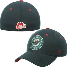Mens Minnesota Wild Zephyr Green Breakaway Alternate Logo Flex Hat