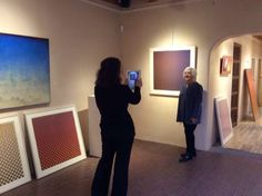 Annell Livingston brings in new paintings on view at Winterowd Fine Art, Santa Fe.
