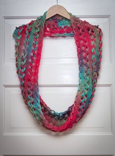 Ravelry: Project Gallery for Braided Hairpin Lace Infinity Scarf pattern by B.hooked Crochet