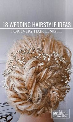 18 Wedding Hairstyles For Every Hair Length ❤ We collected for future Mrs some…