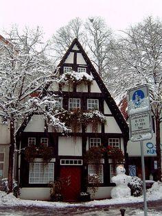 German Fachwerkhaus