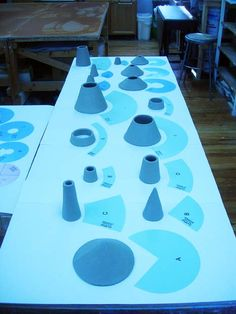 Clay Slab templates
